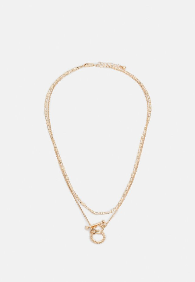 PCDUNIA COMBI NECKLACE - Necklace - gold-coloured