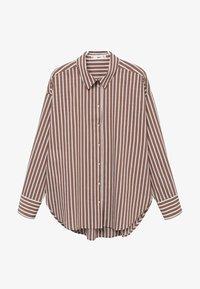 Mango - VERA-I - Button-down blouse - marron - 4
