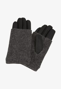 Even&Odd - LEATHER - Gloves - black - 0