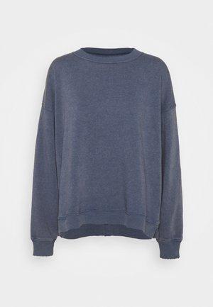 TRANS KI CREW WASH - Sweatshirt - blue
