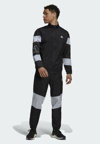 adidas Performance - Tepláková souprava - black/white - 1