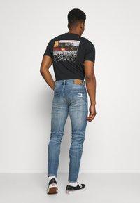 American Eagle - MEDIUM MENDED - Jeans Skinny Fit - indigo fray - 2