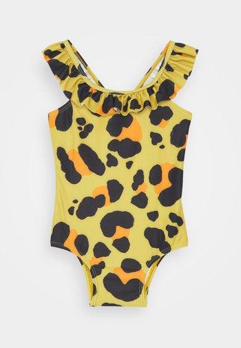 LIANA FRILL SWIMSUIT - Swimsuit - yellow