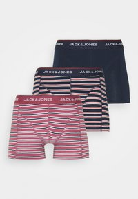 Jack & Jones - TRUNK 3 PACK - Culotte - hawthorn rose/navy blazer/navy - 4