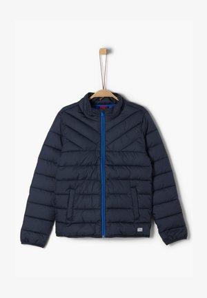 MIT LEICHTER WATTIERUNG - Down jacket - dark blue