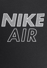 Nike Sportswear - AIR CROP - Triko spotiskem - black/white - 6