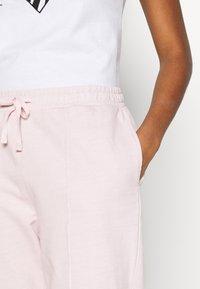 Topshop - ACID WASH JOGGER - Tracksuit bottoms - pink - 4