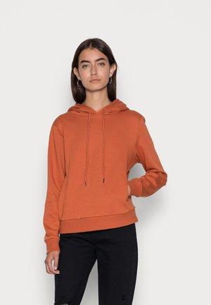 ONLINC JOEY EVERY  BLOCKHOODIE - Sweatshirt - bombay brown