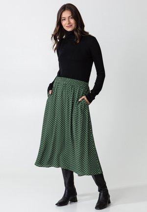SIBEL  - A-line skirt - green