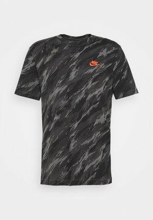 TEE ESSENTIALS - T-shirt med print - iron grey