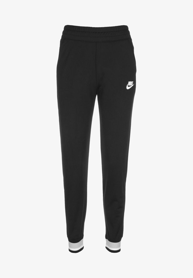 Tracksuit bottoms - black/smoke grey/white