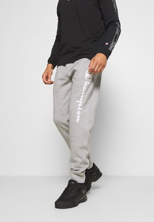 LEGACY CUFF PANTS - Verryttelyhousut - mottled grey