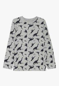 Zalando Essentials Kids - 4 PACK - Langærmede T-shirts - light grey melange/red - 2