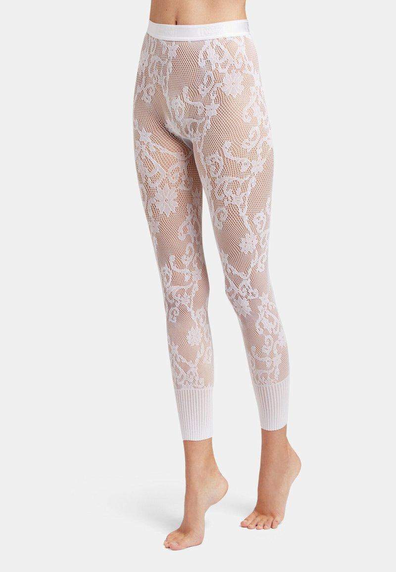 Wolford - Leggings - Stockings - white