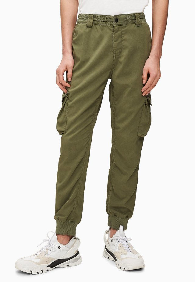 Cargo trousers - new basil