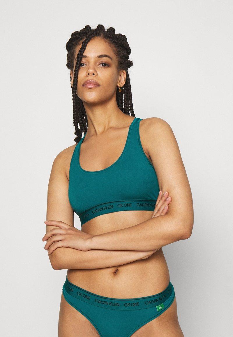 Calvin Klein Underwear - UNLINED BRALETTE - Bustier - turtle bay