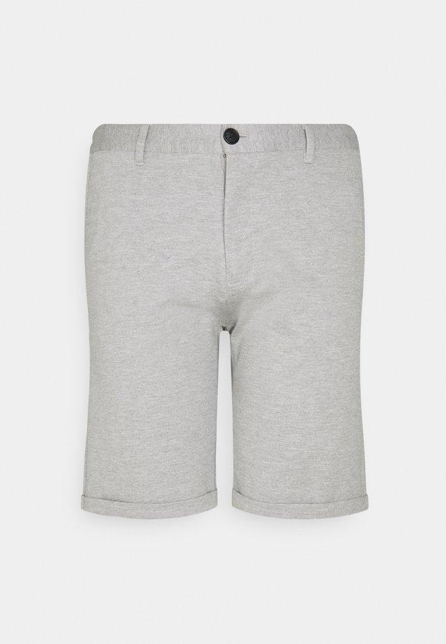 SUPER FLEX TAILORING - Shorts - light grey mix