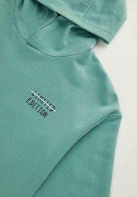 DeFacto - Zip-up sweatshirt - turquoise - 2