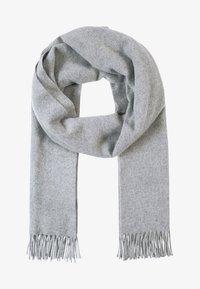 Samsøe Samsøe - ACCOLA MAXI SCARF  - Sjal / Tørklæder - grey melange - 1