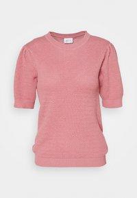 Vila - VICHASSA PUFF - T-shirt print - wild rose - 0