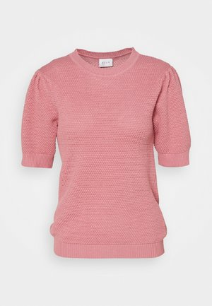 VICHASSA PUFF - Basic T-shirt - wild rose