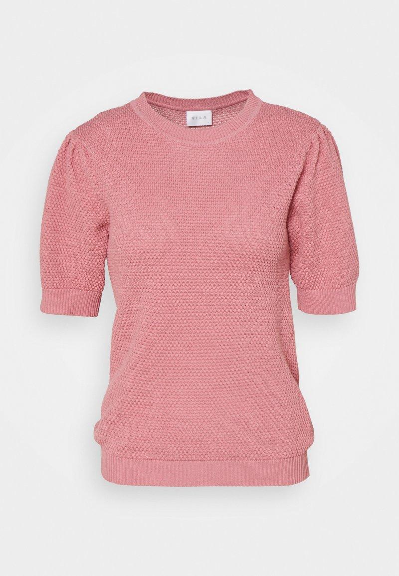 Vila - VICHASSA PUFF - T-shirt print - wild rose
