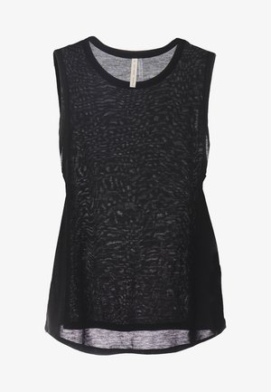 MUSCLE TANK - Toppe - black