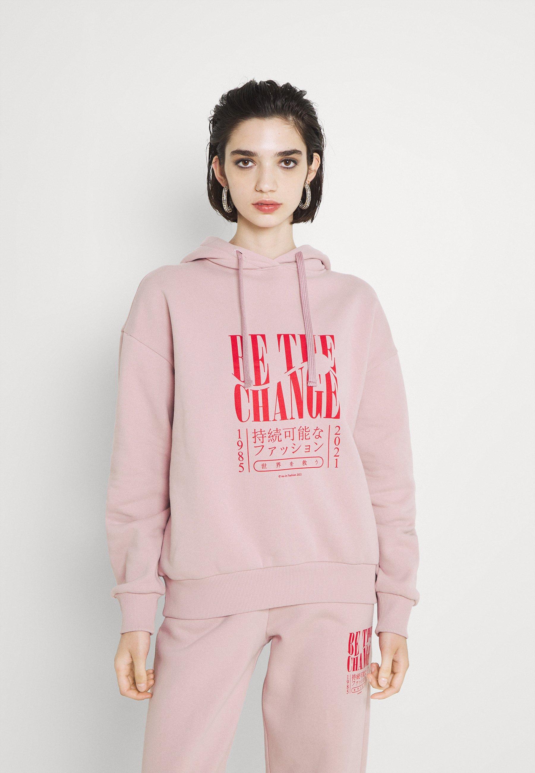 Damen BE THE CHANGE PRINT OVERSIZED HOODIE - Sweatshirt