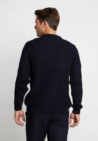Pier One - Sweter - dark blue/blue - 2