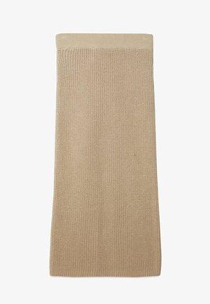 Áčková sukně - stone