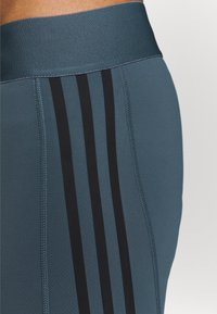 adidas Performance - Leggings - dark blue/black - 6