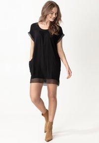 Indiska - MARSHA - Day dress - black - 0