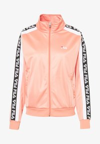 Fila Petite - TAOTRACK JACKET - Training jacket - lobster bisque/bright white - 3