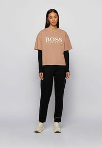 BOSS - Long sleeved top - black - 1