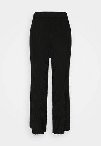 CELESTE TROUSER - Kalhoty - black