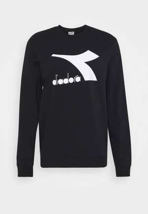 CREW LOGO CHROMIA - Sweatshirt - black