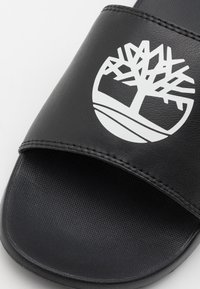 Timberland - PLAYA SPORTS SLIDE - Slip-ins - black/white - 5