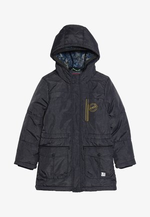 MANTEL - Winter coat - dark blue melange