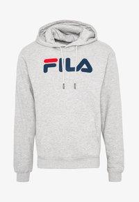 Fila - PURE HOODY - Hoodie - light grey melange - 5