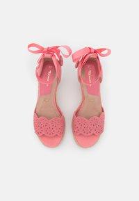 Tamaris - Platform sandals - candy - 5