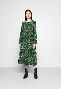 Even&Odd - Day dress - green/white - 0