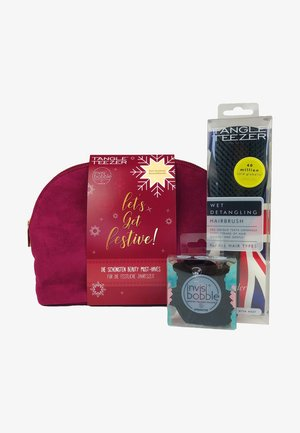 INVISIBOBBLE & TANGLE TEEZER LET'S GET FESTIVE BAG - Hair set - -