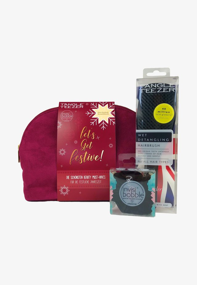 INVISIBOBBLE & TANGLE TEEZER LET'S GET FESTIVE BAG - Haarset - -