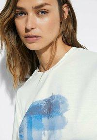 Massimo Dutti - T-shirt imprimé - white - 1