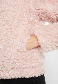 Dorothy Perkins - SHORT TEDDY COAT - Winter jacket - blush - 5