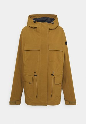 CICELY JACKET - Giacca hard shell - butternut