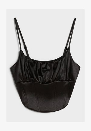 CORSAGE - Bluse - black