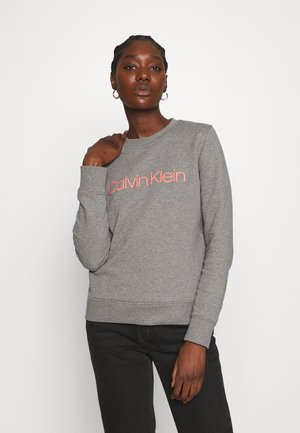 CORE LOGO - Sweatshirt - mid grey heather