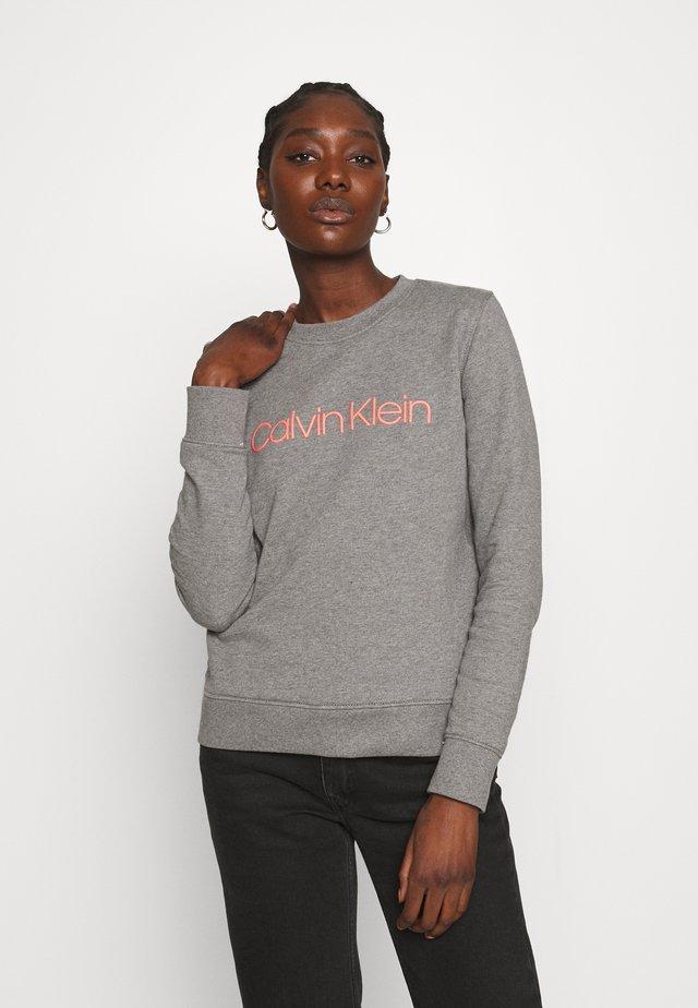 CORE LOGO - Sweatshirt - mid grey heather