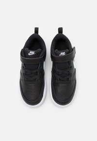 Nike Sportswear - COURT BOROUGH 2 UNISEX - Zapatillas - black/white - 3